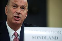 El embajador de EEUU para la UE, Gordon Sondland.
