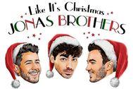Portada de Like It's Christmas, nuevo tema de Jonas Brothers para Navidad