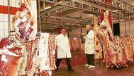 Interior de las instalaciones del matadero de Palma. J. SERRA