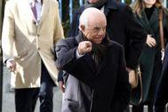 Francisco González, a su llegada a a la Audiencia Nacional para declarar como imputado.