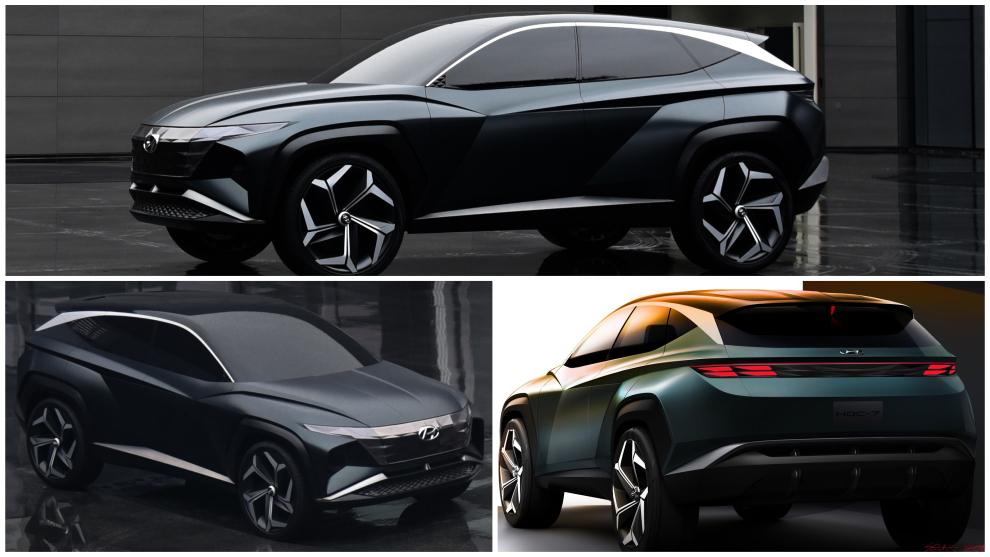 Hyundai Vision T: así es el SUV híbrido enchufable de estilo coupé