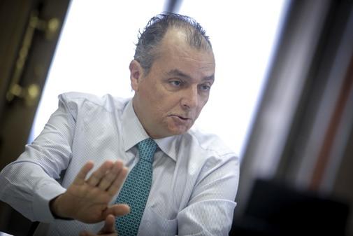 El presidente de la CEV, Salvador Navarro.