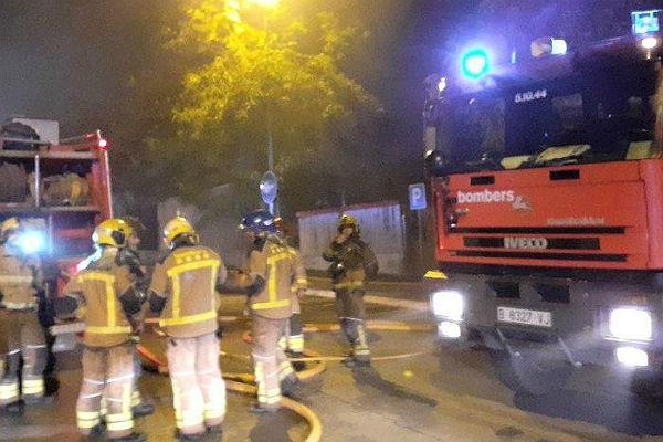 Seat Martorell continuará parada hasta el lunes por el incendio de Faurecia