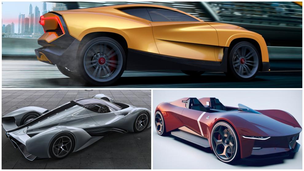 Los coches del futuro, según los diseñadores españoles