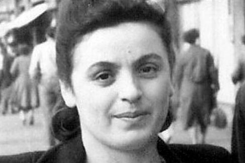 Retrato de Celia (Cilka), que falleció en 2004.