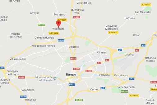 La localidad burgalesa de Villarmero.