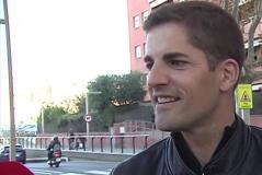 Robert Moreno responde en Casteldefells a los medios.