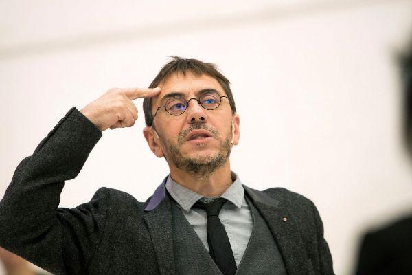 El fundador del Podemos Juan Carlos Monedero.