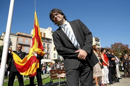 El ex presidente catal