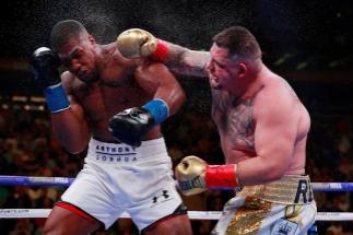 La feroz pelea de Ruiz en la báscula: cómo ganar otra vez a Joshua con menos kilos