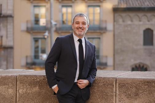 El primer teniente de alcalde de Barcelona, Jaume Collboni, en un...