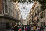 Almeida elimina los semáforos aéreos de Sol para las calles de una sola dirección