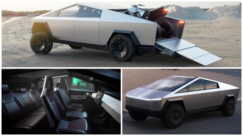 Cybertruck: así es la 'pick-up' eléctrica de Tesla