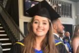Grace Millane, durante su graduación.