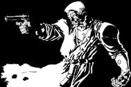 Viñeta del cómic 'Sin City'.