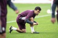 Giuseppe Rossi, en un entrenamiento con el Villarreal.
