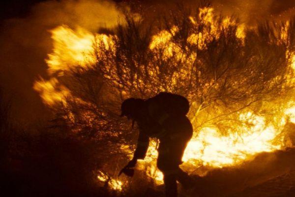 Un momento de 'Lo que arde'.