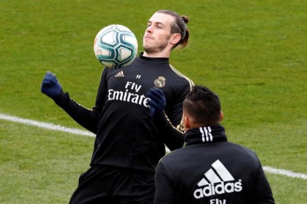 El jugador del Real Madrid Gareth Bale