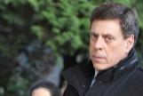 El padre de Diana Quer, Juan Carlos Quer, a su llegada, esta semana, a la Audiencia Provincial de Santiago.