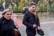 Raúl Calvo, uno de los acusados de agresión sexual.