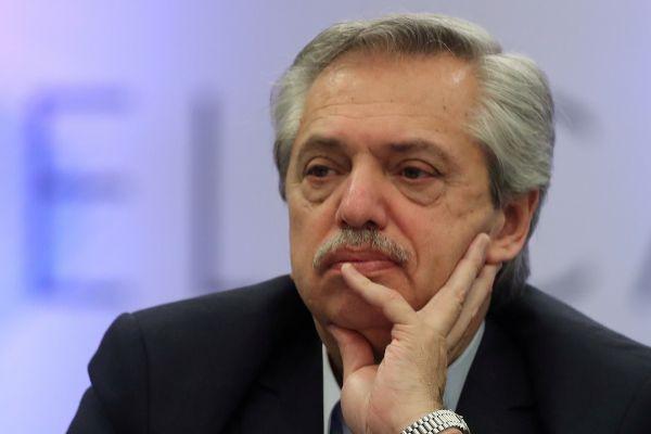 El presidente electo argentino Alberto Fernandez.