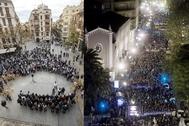 Las dos convocatorias: la del viernes y la manifestación de 2017