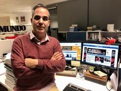 El periodista de EL MUNDO Chema Rodríguez, Premio Andalucía de Periodismo