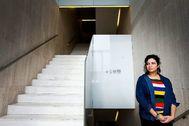 Durante esta semana, Bennamani ha visitado museos de Alicante, como el MACA, Valencia y Madrid.