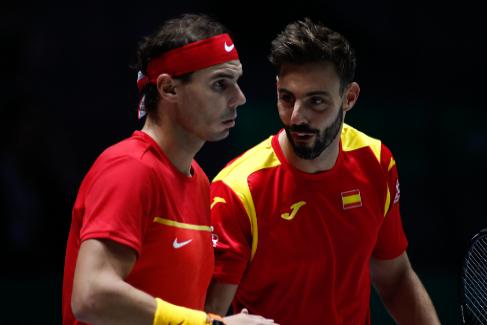 El dobles, en directo: Granollers/Nadal - González/Mayer