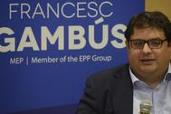 Francesc Gambús, ex eurodiputado y ex dirigente de Unió.