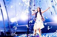 Melani, durante uno de los ensayos esta semana en el Gliwice Arena de Polonia.
