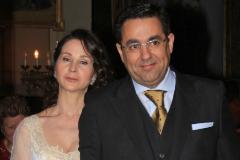 La reboda de Alaya y su marido