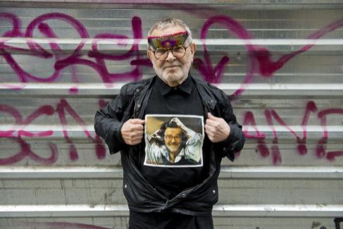 El dramaturgo, poeta y cineasta Fernando Arrabal, en Madrid.