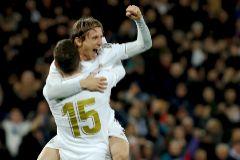 El Madrid se sobrepone a la Real