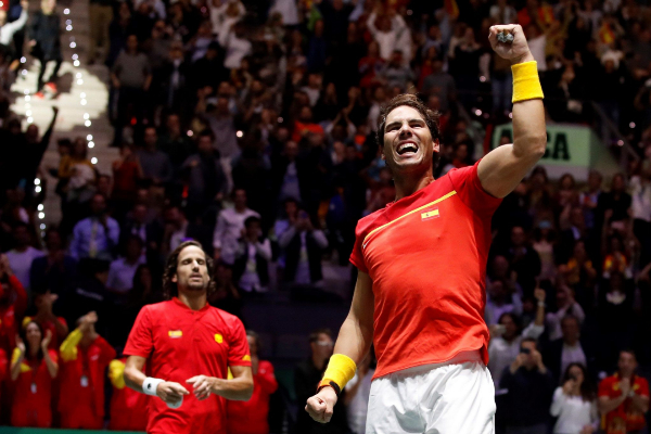 GRAF5861. MADRID, 23/11/2019.- El español Rafa <HIT>Nadal</HIT>...