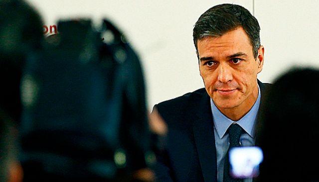 Pedro Sánchez en una reunión del Comité Federal del PSOE. JAVIER BARBANCHO