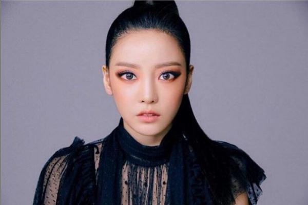 La estrella del K-pop, Goo Hara, en una fotografía reciente de su...