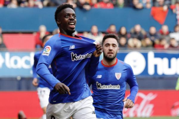 GRAF6110. PAMPLONA.-El delantero del <HIT>Athletic</HIT> de Bilbao...