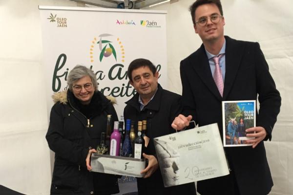 Francisco Reyes invita a los asturianos a conocer Oleotour Jaén, un viaje a la esencia de los mejores aceites de oliva