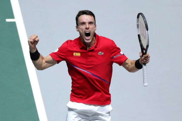 GRAF6261. MADRID.- El tenista español Roberto <HIT>Bautista</HIT>...