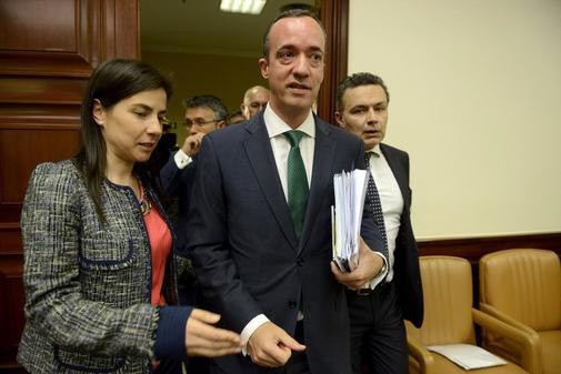 El ex secretario de Estado de Seguridad Francisco Martínez, en una...