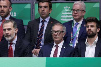 La otra Copa Davis: el Rey Felipe VI, Piqué, Ramos, Almeida...