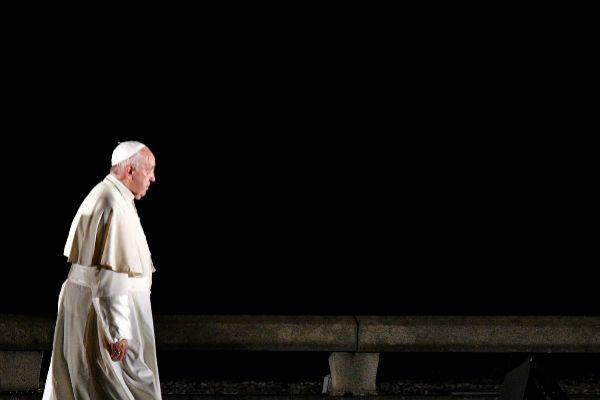 El Papa Francisco en Nagasaki.