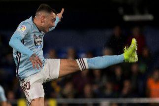 Un doblete de Aspas prolonga el apagón del Villarreal