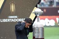 Gallardo, tras la final de la Libertadores.