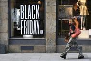 Ofertas del Black Friday en una tienda