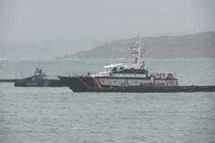 Dos detenidos en el primer narcosubmarino detectado en Galicia con tres toneladas de cocaína a bordo