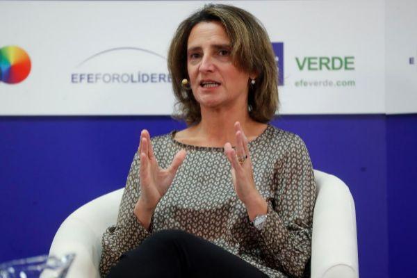 Teresa Ribera, ministra para la Transición Ecológica en funciones.
