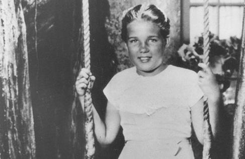 Sally Horner, en agosto de 1948, seis semanas después de ser secuestrada.