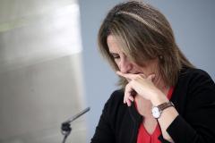 La ministra para la Transición Ecológica en funciones, <HIT>Teresa</HIT> <HIT>Ribera</HIT>, en rueda de prensa tras el Consejo de Ministros en Moncloa el pasado viernes.